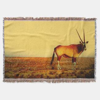Oryx Throw Blanket