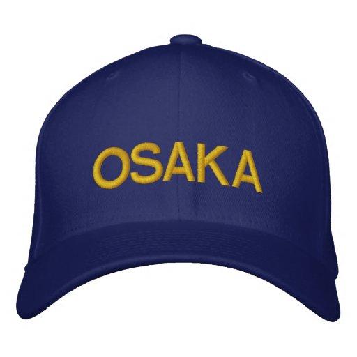 Osaka Cap Embroidered Hats