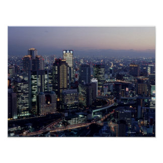 Osaka Prefecture Poster