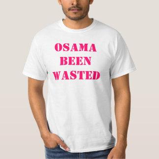 osama been wasted shirt