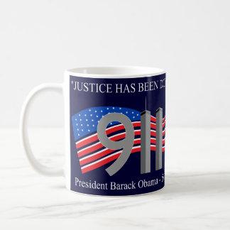 Osama Bin Laden Dead - Justice has been done Coffee Mug