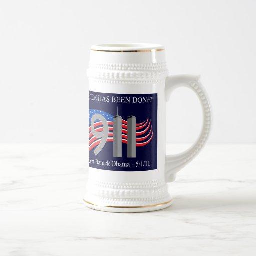 Osama Bin Laden Dead - Justice has been done Coffee Mugs