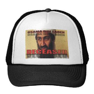OSAMA DECEASED HAT