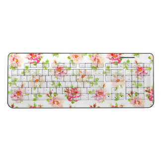 Osanna Watercolor Roses Wireless Keyboard
