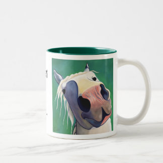 Oscar Kisses mug... Two-Tone Coffee Mug