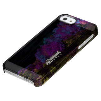 oscar leaves the party clear iPhone SE/5/5s case