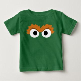 Oscar the Grouch Big Face Baby T-Shirt