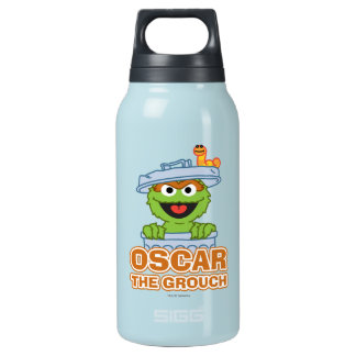Oscar the Grouch Classic Style Insulated Water Bottle