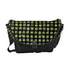Oscar the Grouch Emoji Pattern Courier Bag