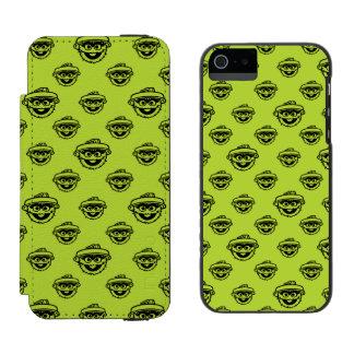 Oscar the Grouch Green Pattern Incipio Watson™ iPhone 5 Wallet Case