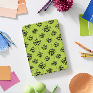 Oscar the Grouch Green Pattern iPad Air Cover