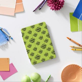 Oscar the Grouch Green Pattern iPad Mini Cover