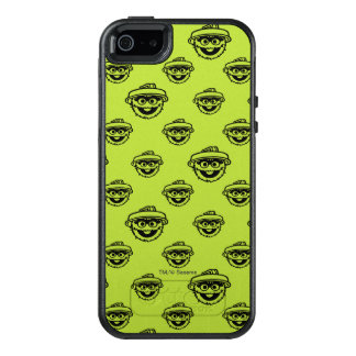 Oscar the Grouch Green Pattern OtterBox iPhone 5/5s/SE Case