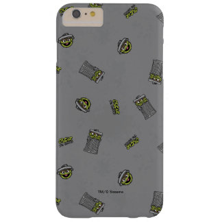 Oscar the Grouch | Grey Pattern Barely There iPhone 6 Plus Case