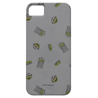 Oscar the Grouch | Grey Pattern Case For The iPhone 5