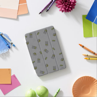 Oscar the Grouch | Grey Pattern iPad Mini Cover