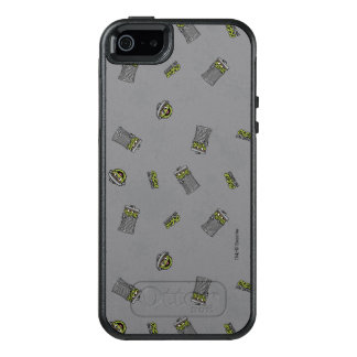 Oscar the Grouch | Grey Pattern OtterBox iPhone 5/5s/SE Case