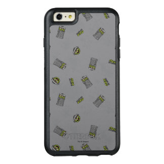 Oscar the Grouch | Grey Pattern OtterBox iPhone 6/6s Plus Case