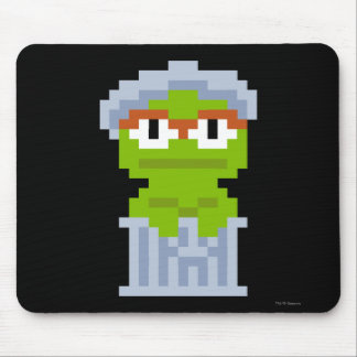 Oscar the Grouch Pixel Art Mouse Pad