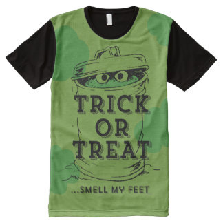 Oscar the Grouch - Smell my Feet All-Over Print T-Shirt