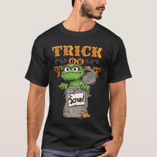 Oscar the Grouch - Trick or Treat, Scram! T-Shirt