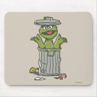 Oscar the Grouch Vintage 1 Mouse Pad