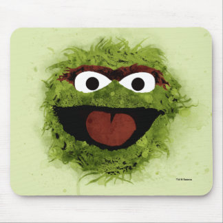 Oscar the Grouch | Watercolor Trend Mouse Pad