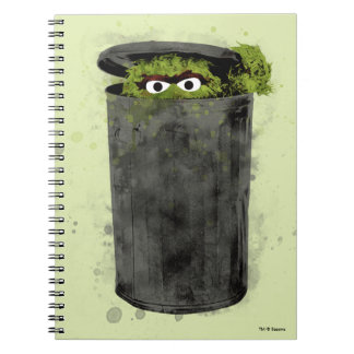 Oscar the Grouch | Watercolor Trend Notebooks