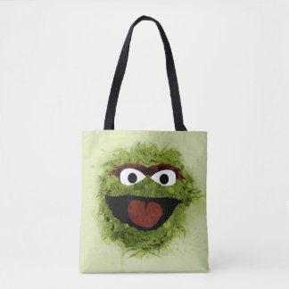 Oscar the Grouch | Watercolor Trend Tote Bag
