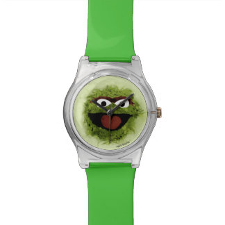 Oscar the Grouch | Watercolor Trend Watch