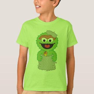 Oscar the Grouch Wool Style T-Shirt