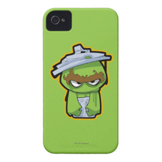Oscar the Grouch Zombie iPhone 4 Cover
