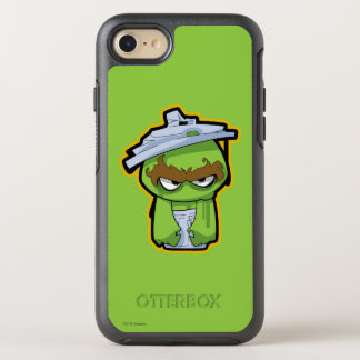 Oscar the Grouch Zombie OtterBox Symmetry iPhone 7 Case