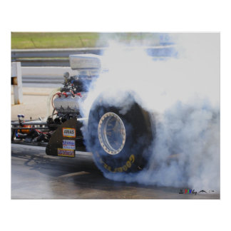 Osceola Dragway_MG_5542 Nostalgia Fuel Dragster Poster