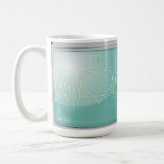 Oscilloscope Love Mugs