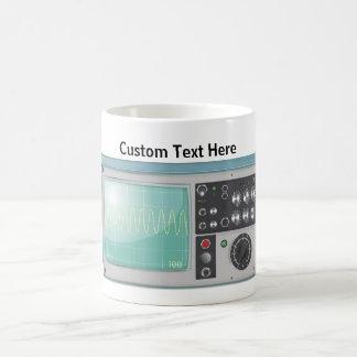 oscilloscope coffee mug