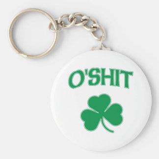 O'Shit Irsh Shamrock Key Chains