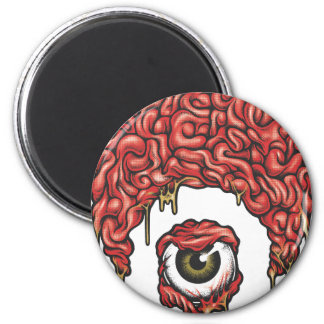 Osiris Brains Icon 6 Cm Round Magnet