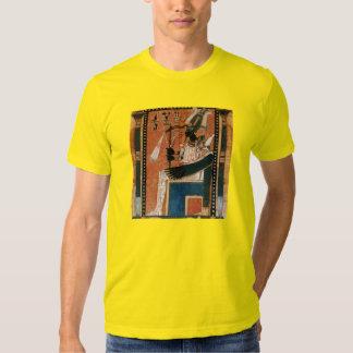 Osiris Egyptian Black God Papyrus Reproduction T Shirts