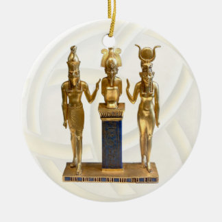 Osiris Horus Isis - Yule - 2B Christmas Ornaments