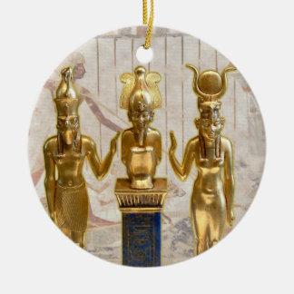 Osiris Horus Isis - Yule - 4B Ornament