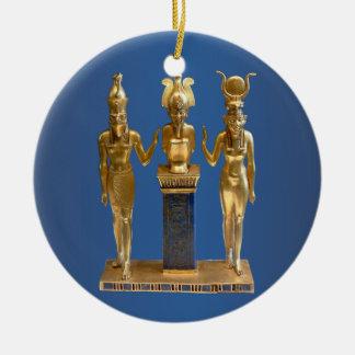 Osiris Horus Isis - Yule Christmas Ornament