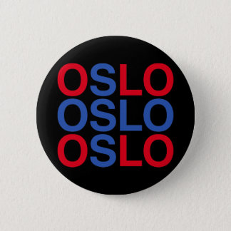 OSLO 6 CM ROUND BADGE