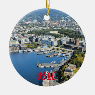 Oslo Christmas Ornament