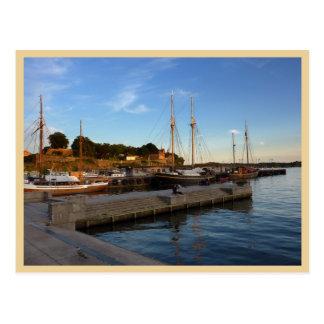 Oslo Harbour Postcard