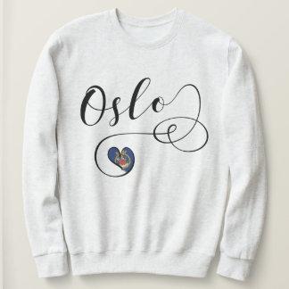 Oslo Heart Sweatshirt, Norway Sweatshirt