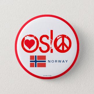 Oslo Love Peace Button 3