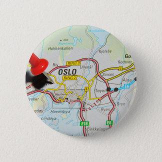 Oslo, Norway 6 Cm Round Badge