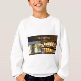 Oslo, Norway at night Sweatshirt