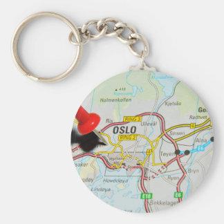 Oslo, Norway Key Ring